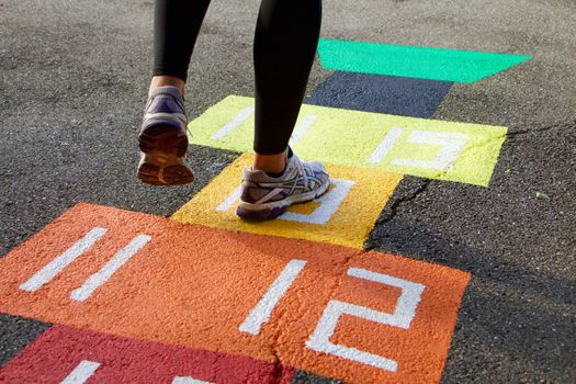 Photo free play, floor, pavement