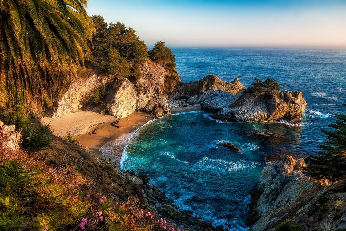 Фото бесплатно Julia Pfeiffer Burns State Park, Big Sur, California - на рабочий стол