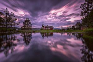 Фото бесплатно облака, Norway, пейзаж