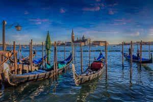 Фото бесплатно Grand Canal, Venice, Гранд-Канал, Венеция, Италия