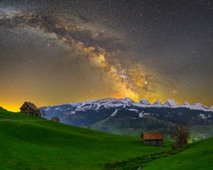 Photo free Of the mountains, guests can mountain range in the Canton of St Gallen, Switzerland
