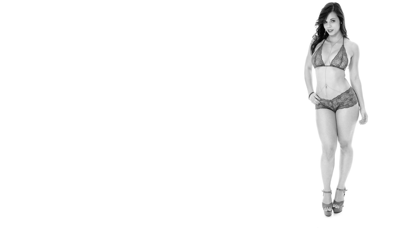 Фото бесплатно женское белье, черный и белый, 4К, некане, трусики, бюстгальтер, эротика