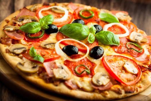Awesome pizza · free photo