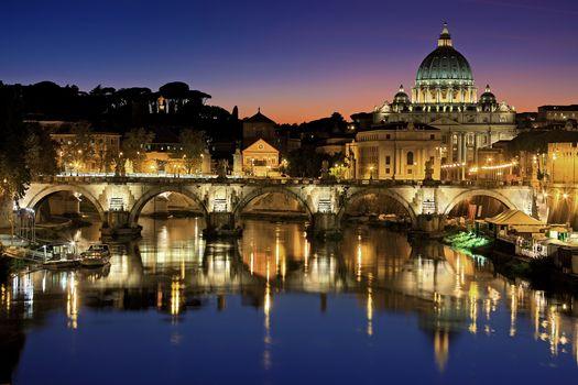 Заставки Италия, тибер, Европа