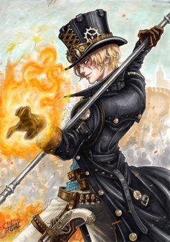 Фото бесплатно аниме, персонаж, пистолет