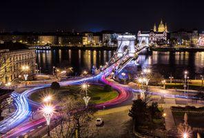 Фото бесплатно сумерки, ночь, Венгрия
