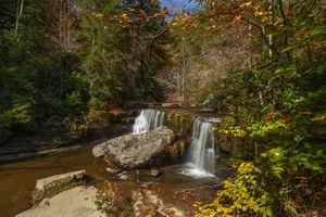 Фото бесплатно Upper Greeter, Falls Tennessee State Park, водопад