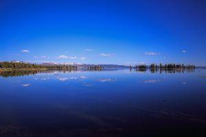 Фото бесплатно Yellowstone, Jackson Lake, озеро, Jackson Lake Lodge, Моран, США