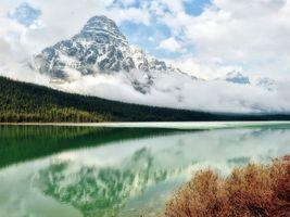 Фото бесплатно Гора Чефрен, озера, пейзажи