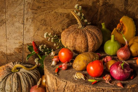 Photo free potatoes, tomatoes, gifts of nature