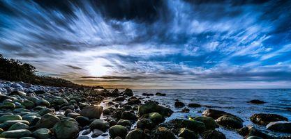 Бесплатные фото seashore,beach,sky,cloud,panoramic