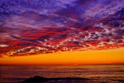 Photo free coast state Park SONOMA coast, shore, sunset