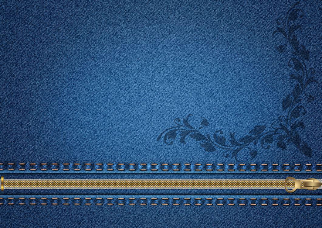 Фото бесплатно материал, джинса, джинсовая ткань, молния, текстура, текстуры