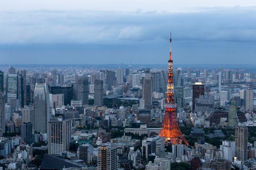 Photo free Tokyo, buildings, city