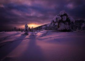 Заставки Kongsberg, Norway, зима