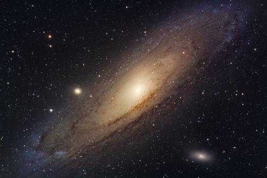 Photo free space, Galaxy, The Andromeda Galaxy