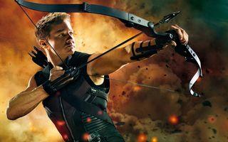 Лучник из Мстителей · бесплатное фото