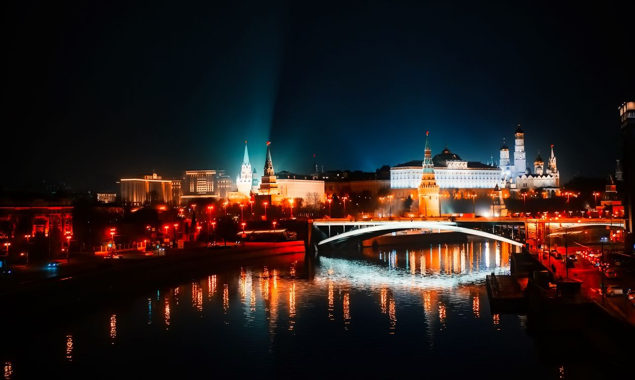 Photos for free illumination, Moscow, Russia - to the desktop