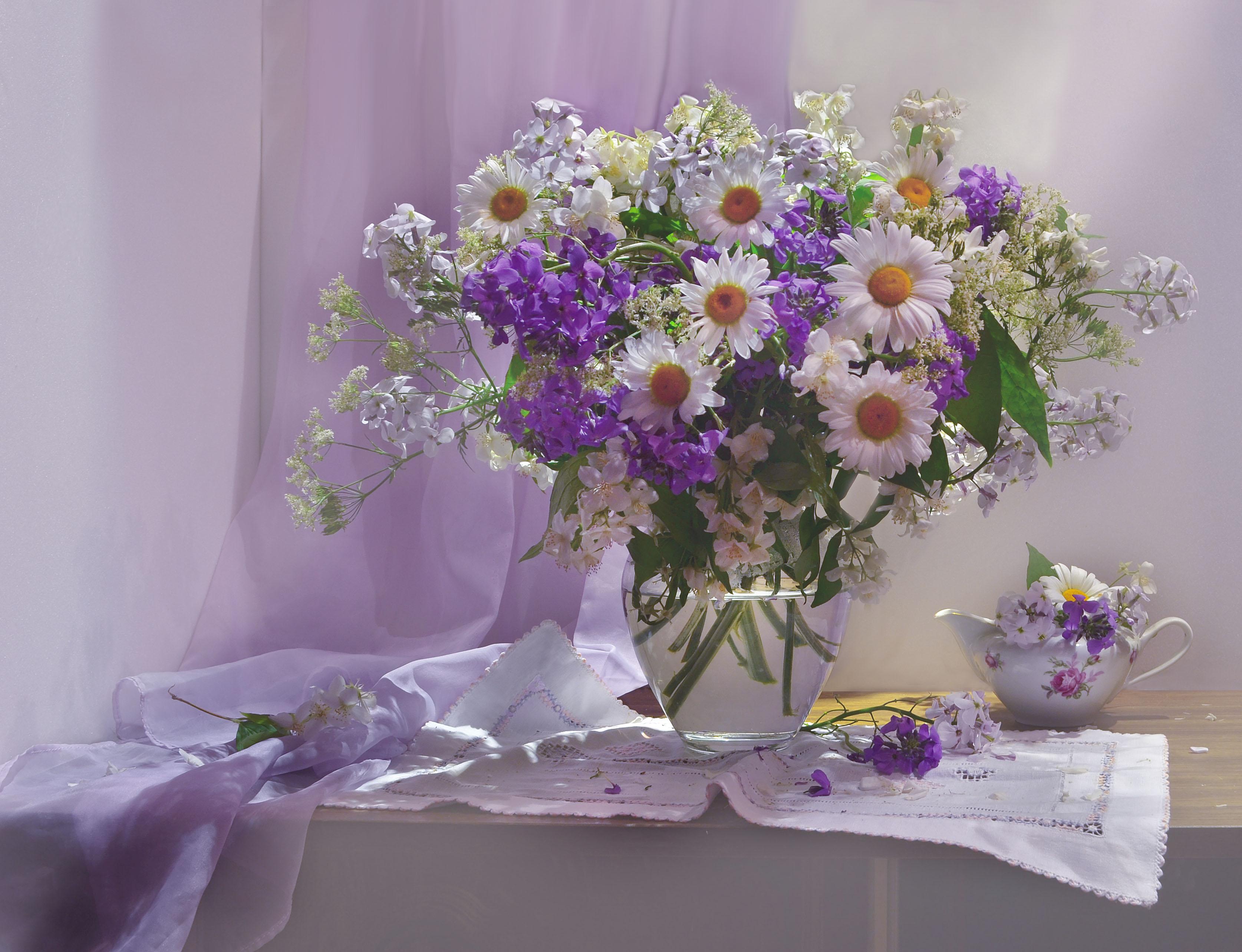 Красивые фото цветов доброго утра одном