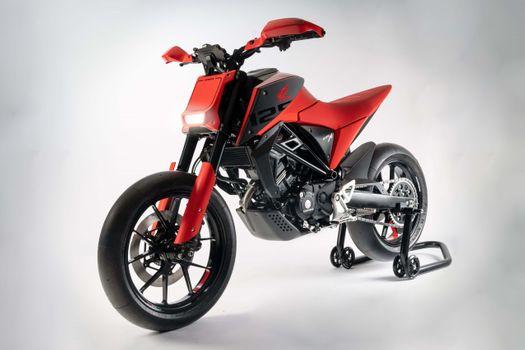 Фото бесплатно Honda cb125m, красный, мотоцикл