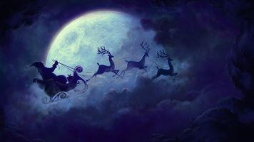 Заставки Рождество, праздники, дед мороз