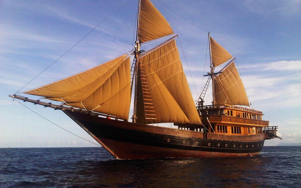 Обои парусник, корабль, лодка картинки на телефон