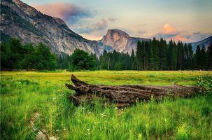 Фото бесплатно Йосемитский национальный парк, горы, лето