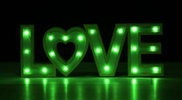 Photo free love, sign, signature