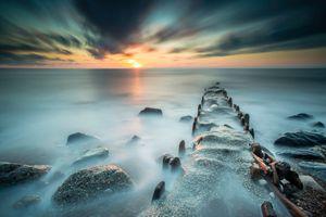 Каменный причал · бесплатное фото