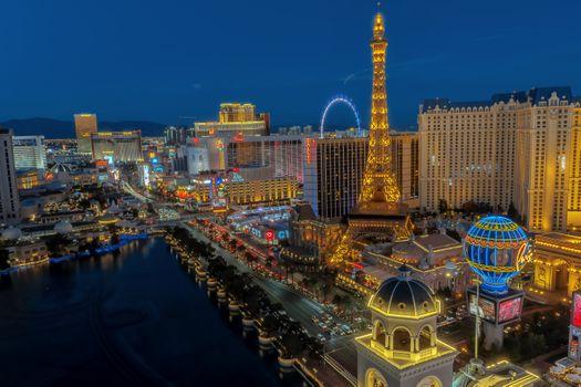 Бесплатные фото Лас-Вегас,Невада,соединенные штаты,сша,архитектура,Белладжио,Белладжио фонтан,синий час,город,городской пейзаж,округа Кларк,Кларк Каунти