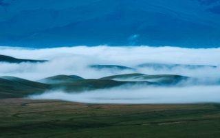 Фото бесплатно туман, вид, поля