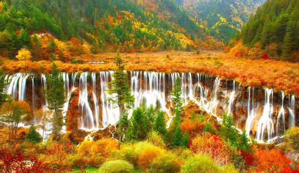 Photo free autumn, beautiful, cascades