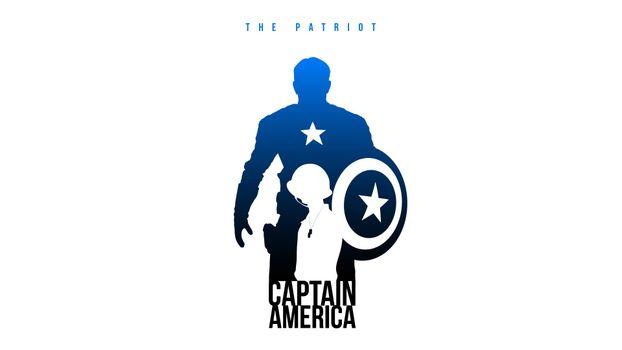 Photo free Captain America, the Patriot, comic book