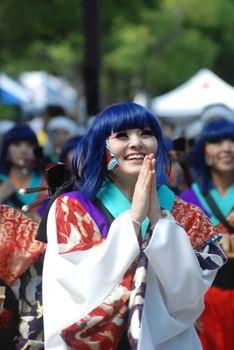 Photo free color, clothes, Japan