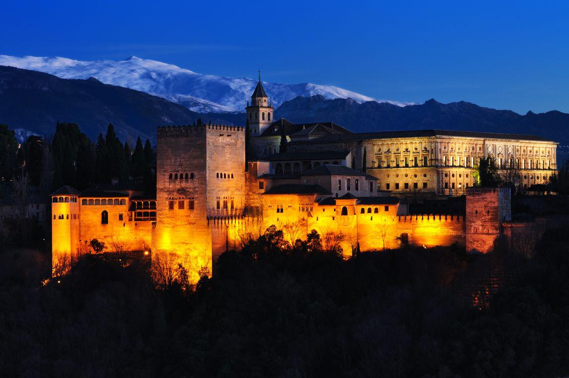 Фото бесплатно La Alhambra de Granada, Альгамбра, Гранада - на рабочий стол