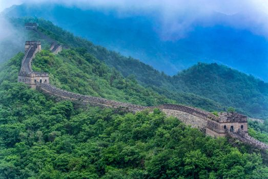 Photo free mountain, the site Mutianyu, landscape