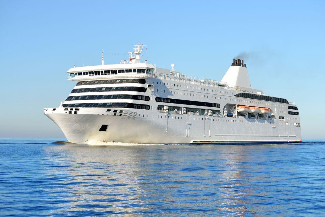 Фото бесплатно Cruise Ship, круизный лайнер, море, корабли