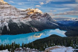 Заставки Peyto Lake, Banff National Park, Alberta