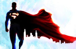 Заставки Deviantart, Супермен, Супергерои
