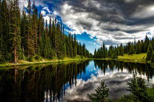 Фото бесплатно Колорадо, Альпы, озеро