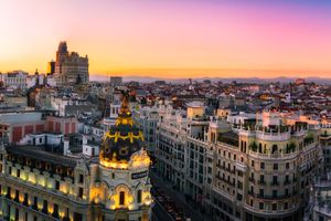 Photo free Madrid, Spain, Calle Gran Via