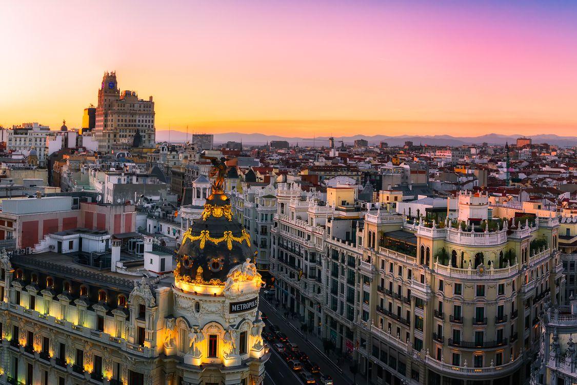 Фото бесплатно Испания, дом, Мадрид - на рабочий стол