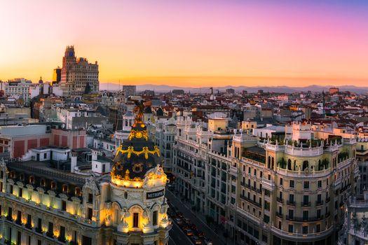 Заставки Испания, дом, Мадрид