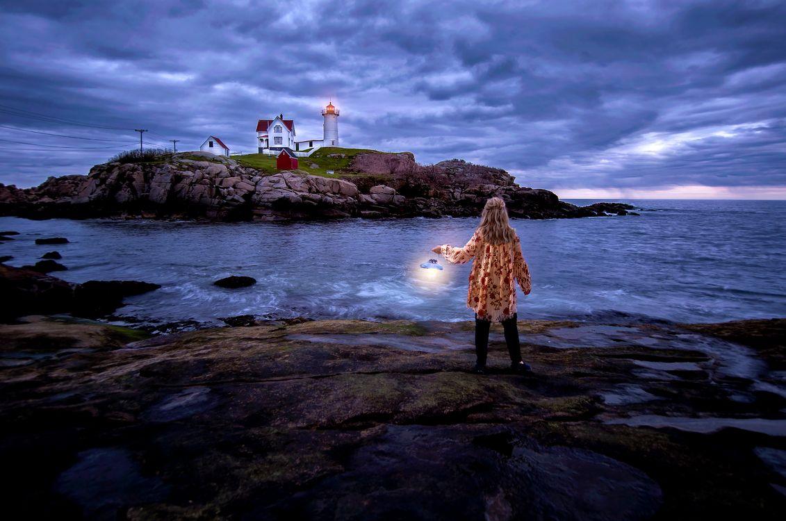 Free photo Cape Neddick, Maine, USA - to desktop