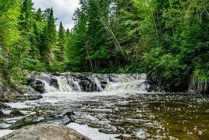 Фото бесплатно пейзаж, деревья, камни