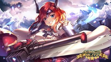 Photo free armour blitz and the girl smiling, anime and games, anime