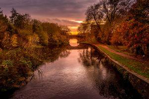 Фото бесплатно Британия, Лидс, Ливерпульский канал