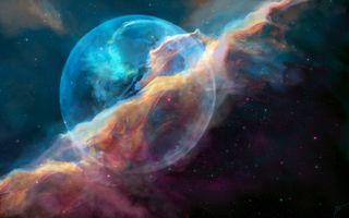 Туманность пузырь NGC 7635