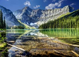 Фото бесплатно Rawson Lake, Peter Lougheed Provincial Park, Alberta