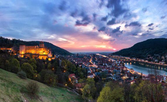 Photo free cityscape, city, Heidelberg